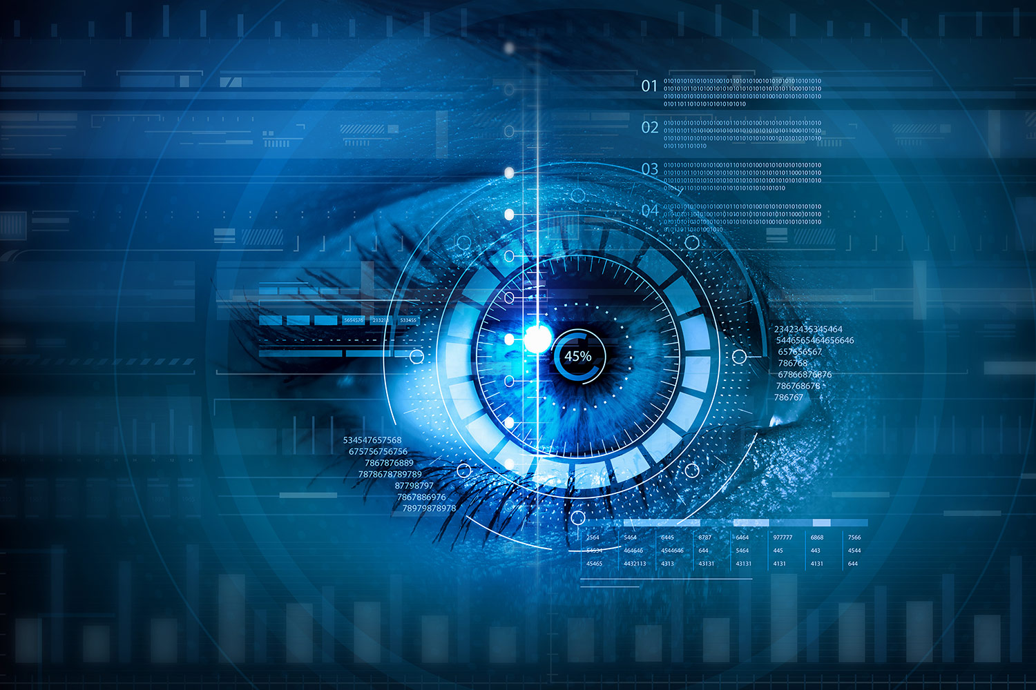 NHS Biometrics Iris Scan