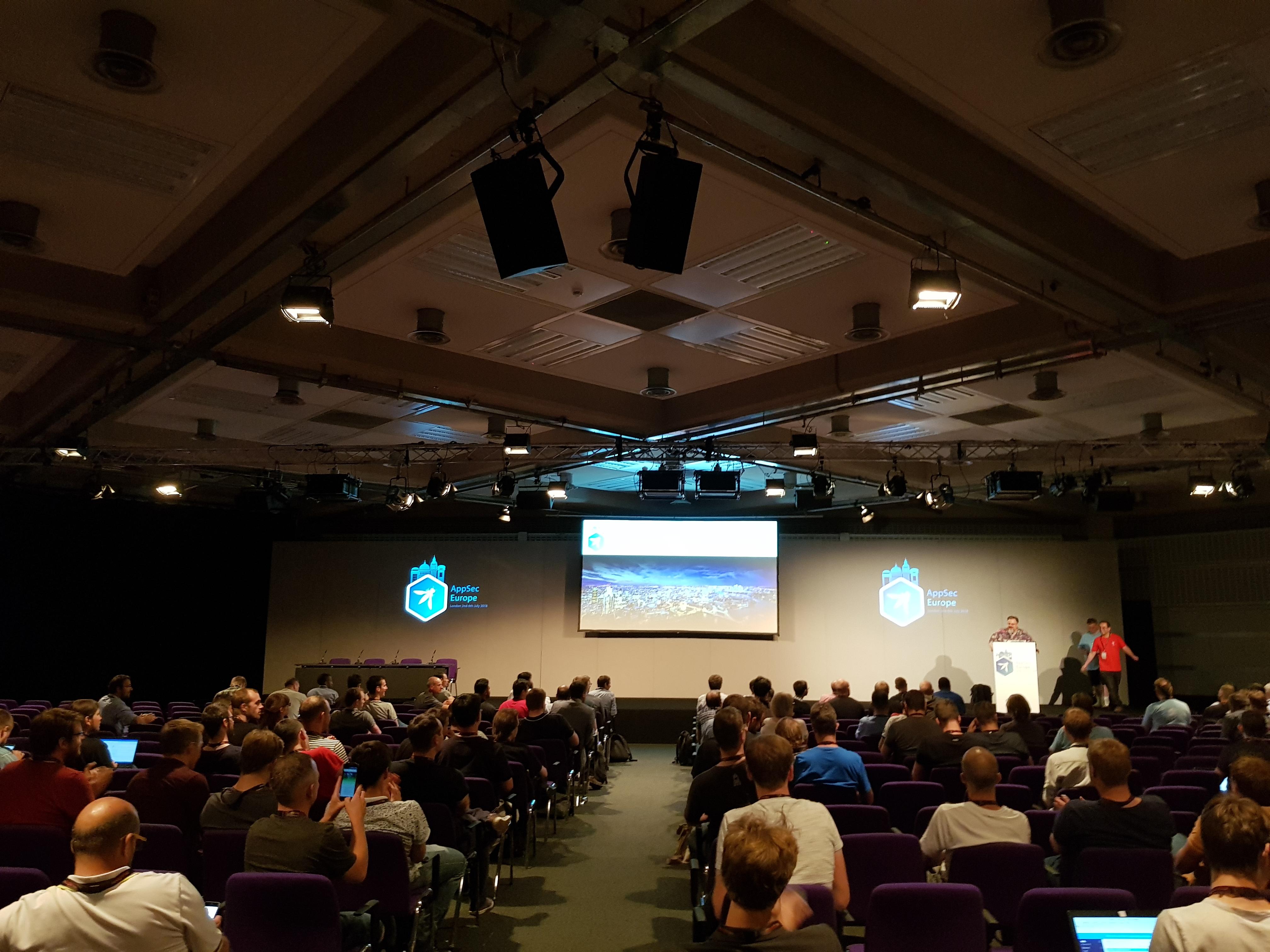 Isosec attend the OWASP AppSec EU 2018 conference   Isosec Ltd
