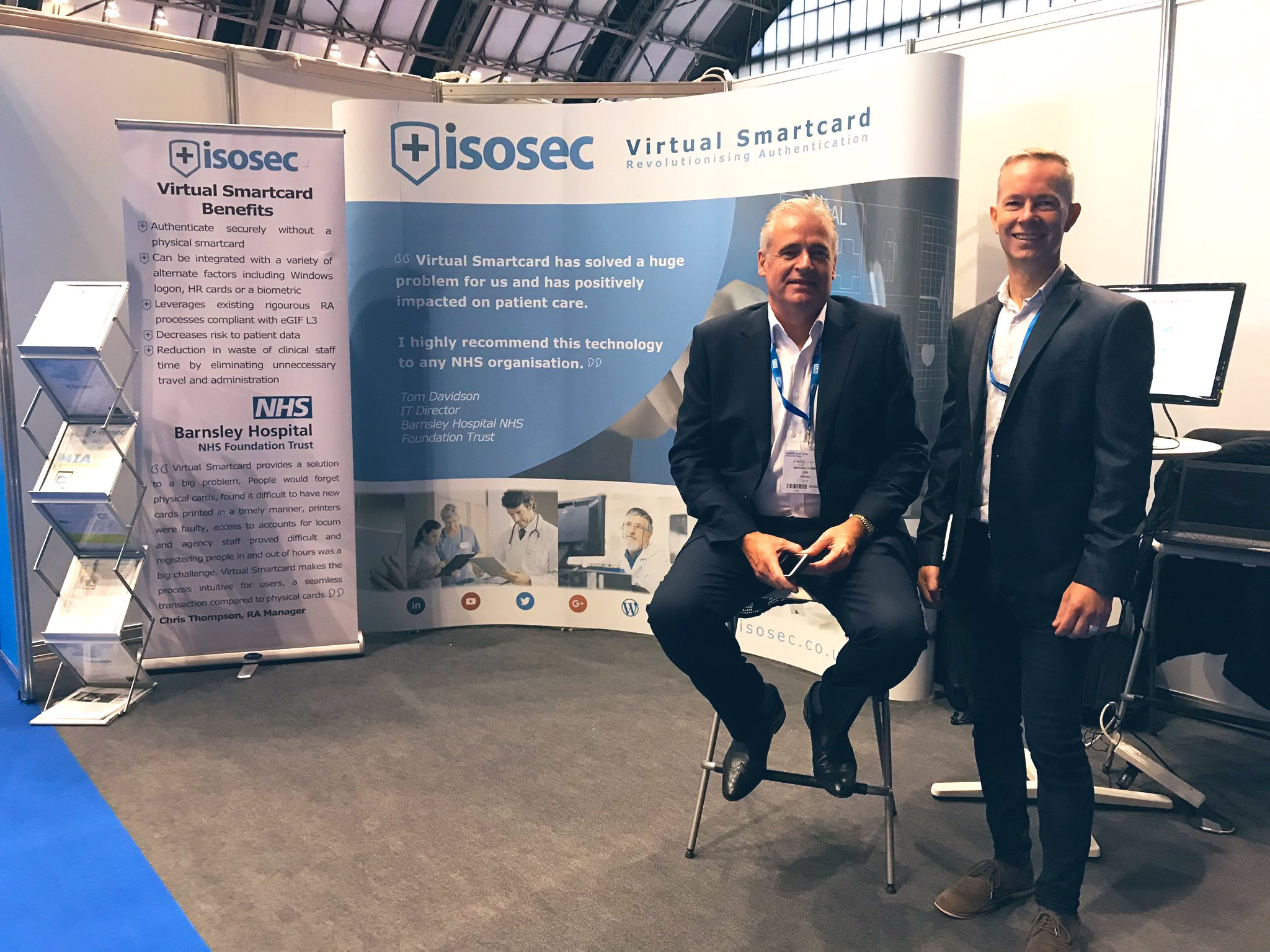 CEO and CTO of Isosec present the new Web Service