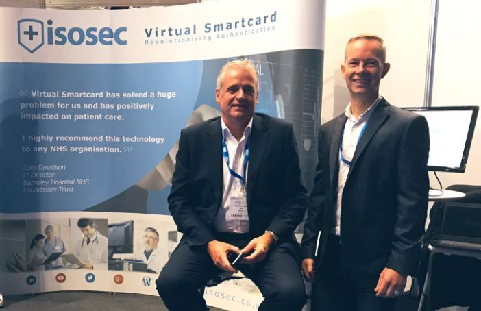 Isosec CEO, Michael Latimer (L) with Isosec CTO and co-founder, Marc Poulaud