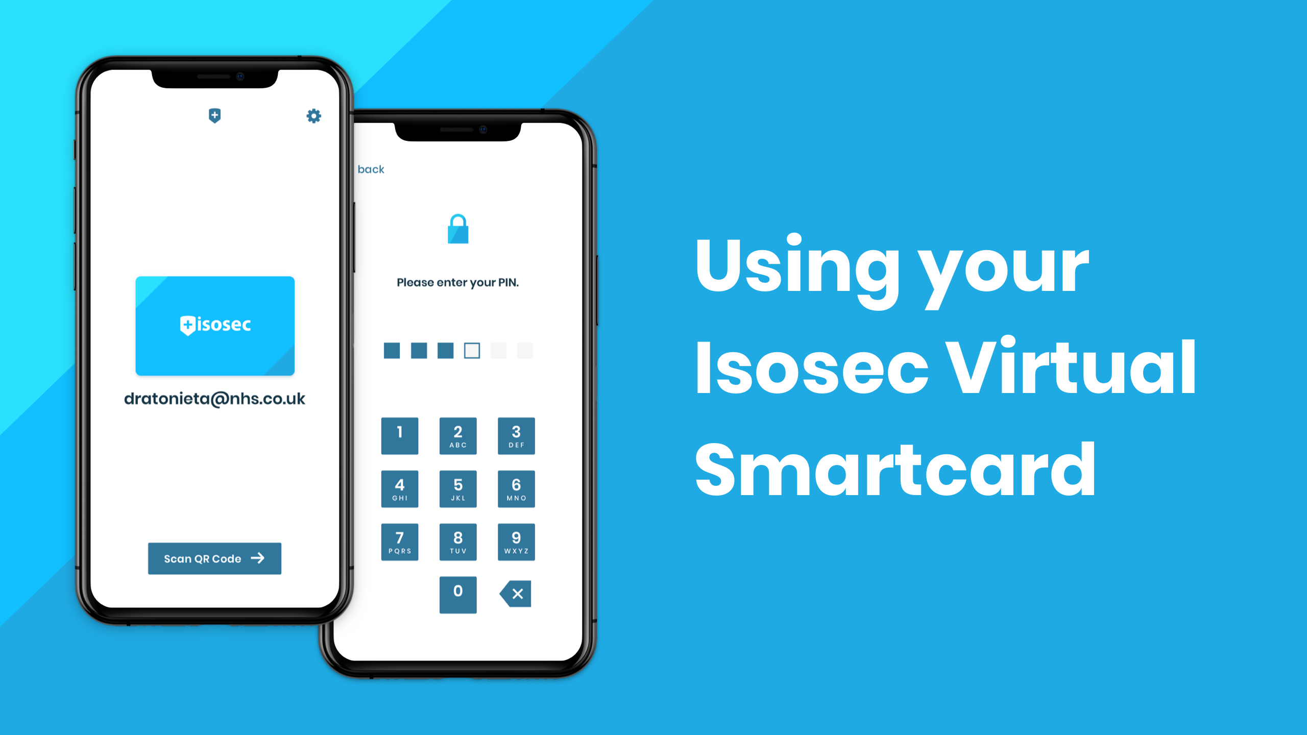 Using your Isosec Virtual Smartcard