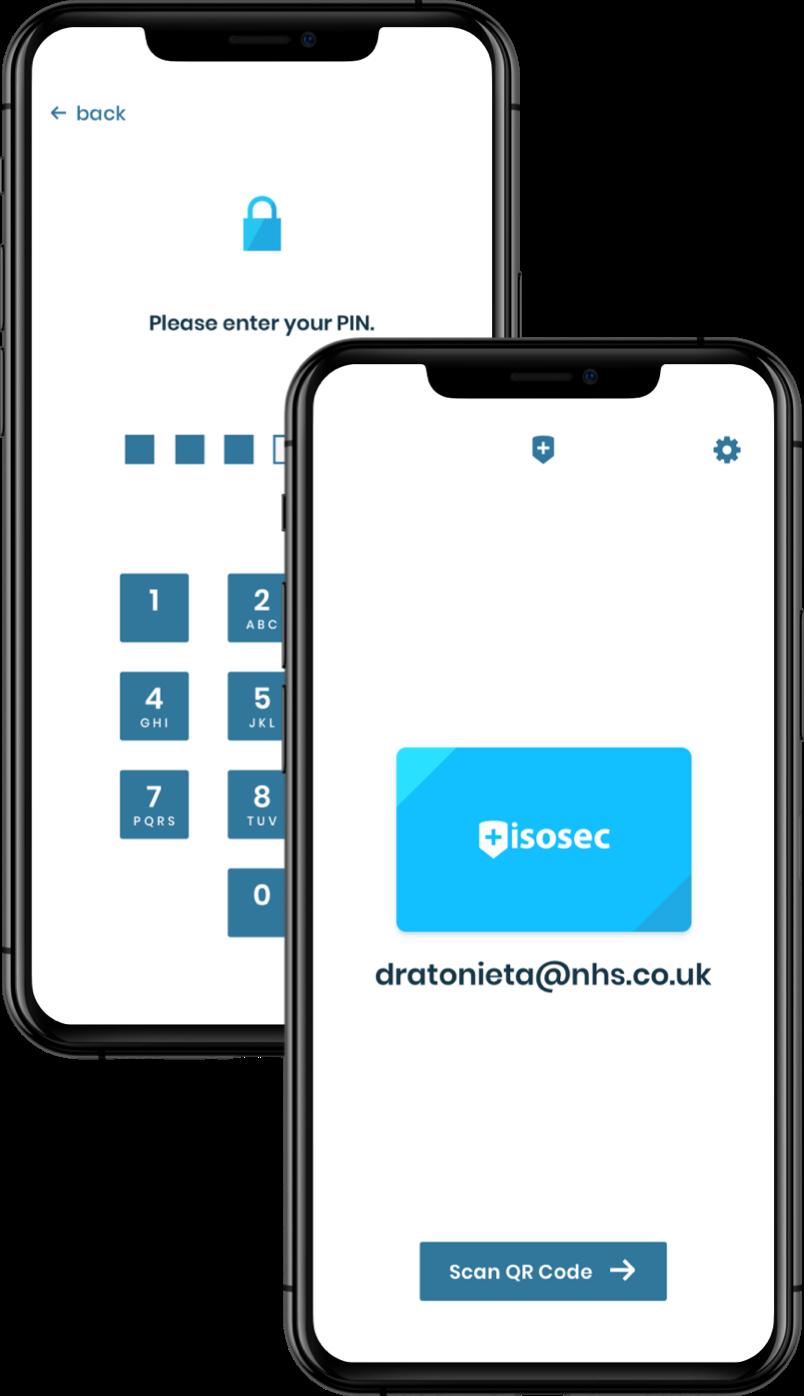 Isosec VSc app